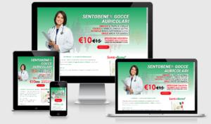 Landing Page SentoBene